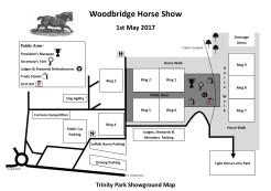 2017 Showground Map