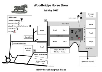 2017 Showground Map